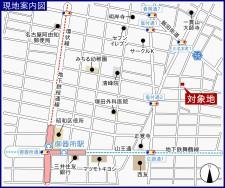 川名本町 地図