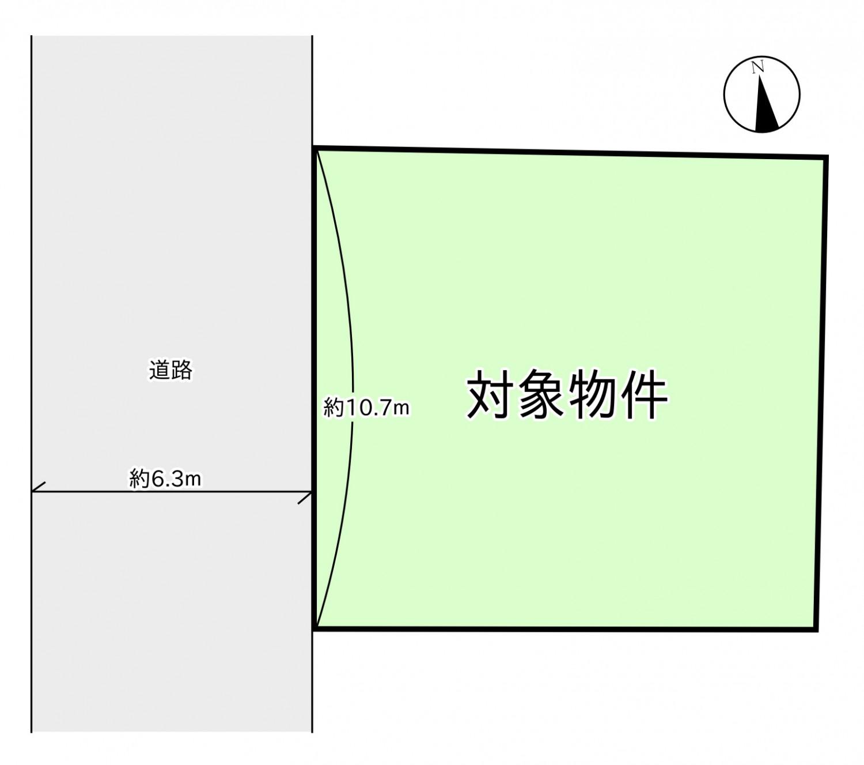 川名本町 区画図